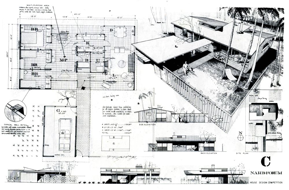 Architectureweek people and places ralph rapson small for Small house design competition