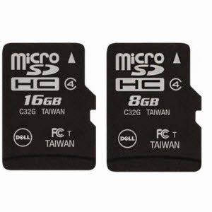 Buy Dell MicroSDHC 8 GB Class 4 Rs. 89 (Axis Bank Cards) or Rs. 99, 16GB Class 4 Rs. 179 (Axis Bank Cards) or Rs. 199 – Flipkart App