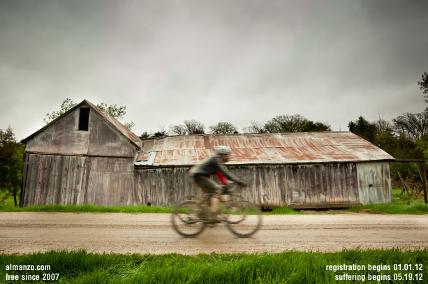 2012 Almanzo 100 - A gravel road bicycling event - Saturday May 19th