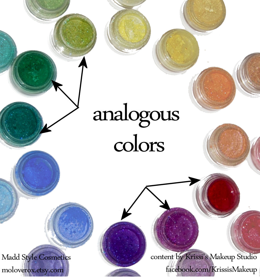 Krissi 39 s art studio color theory for non artists part ii for Analogous colors are