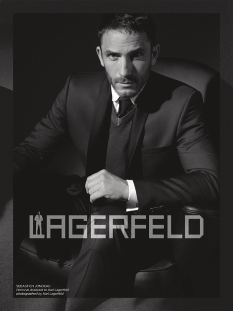 Sebastien Jondeau by Karl for Lagerfeld Fall 2013 Campaign