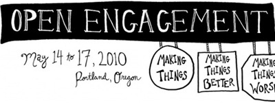 http://www.ericmsteen.com/2010/02/open-engagement-making-things-making.html