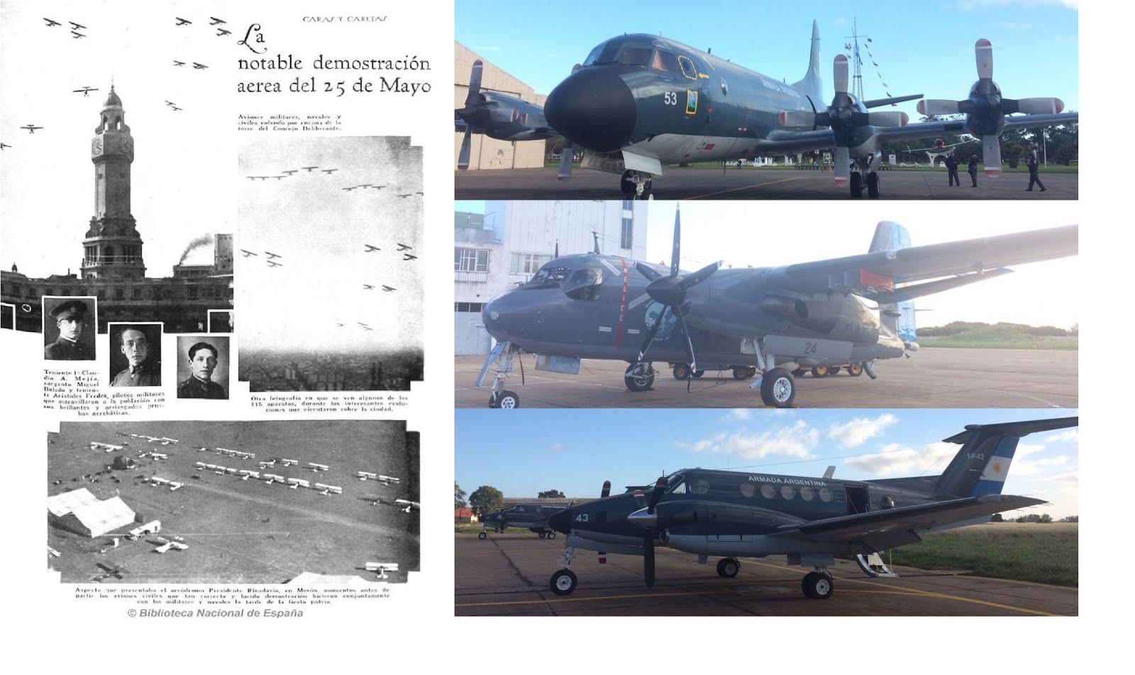 25 de Mayo – La Aviación Naval Argentina en el desfile aéreo