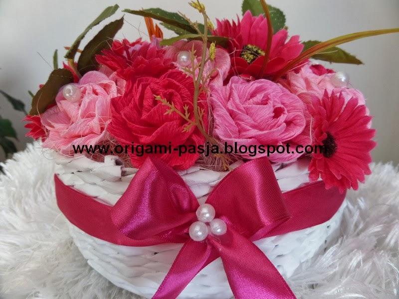 Kosz kwiatów :)