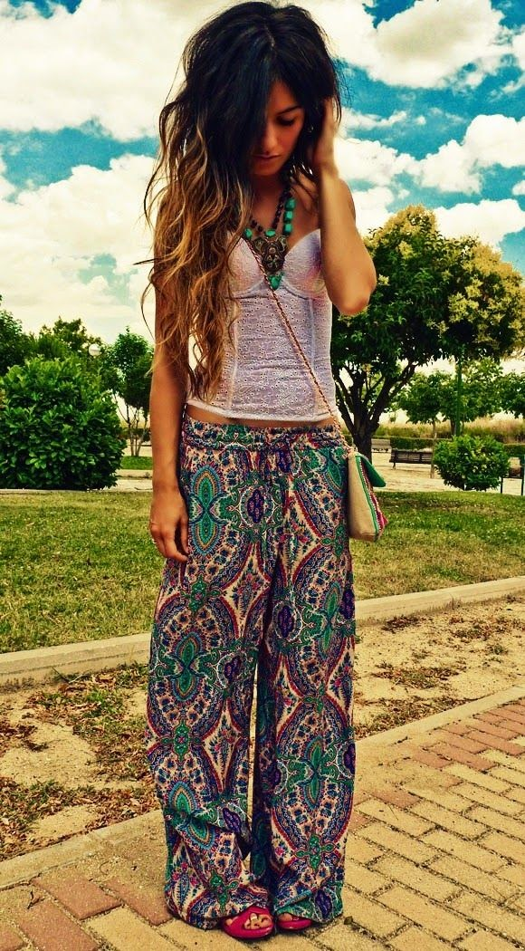 Top 5 Beautiful Hippie Style