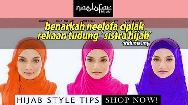 Benarkah Dakwaan Neelofa Ciplak Rekaan Tudung Jenama Sistra Hijab?