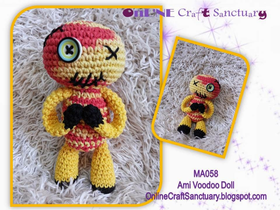 Online Craft Sanctuary: Amigurumi Voodoo Doll