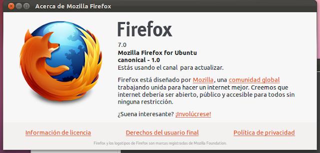 Instalar Firefox 7 en Ubuntu