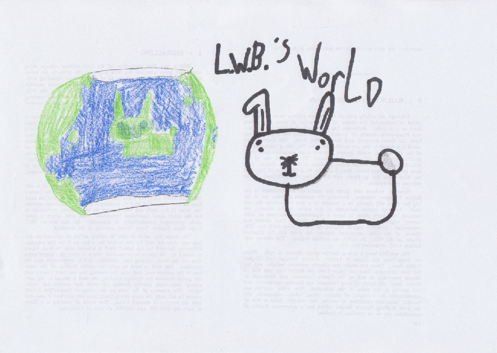 Little White Bunny's World!