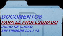 Documentos para el Profesorado