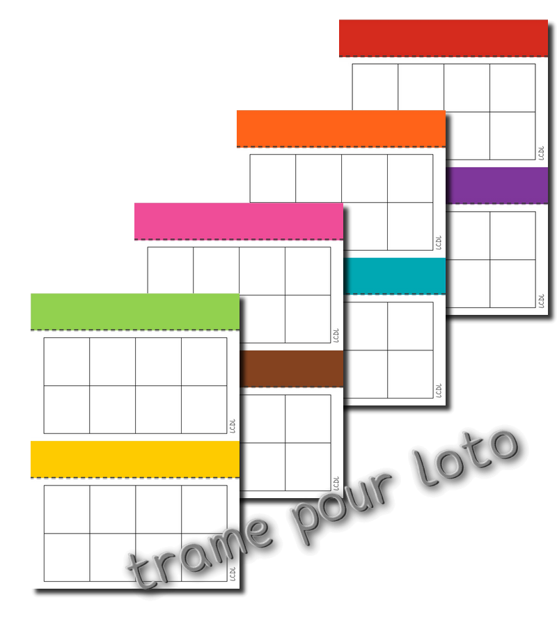 Préférence La maternelle de Laurène: Le loto des lettres WV45