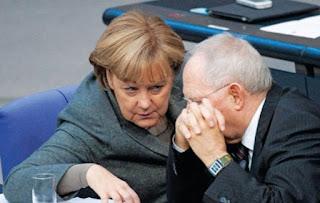 Κυνική ομολογία Μέρκελ για συμπαιγνία με το Σόιμπλε κατά της Ελλάδας