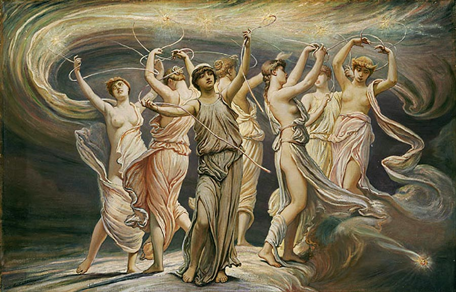 Elihu Vedder: The Pleiades, 1885.