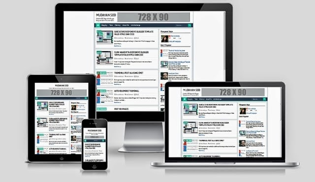 Mudahan SEO Responsive Blogger Template