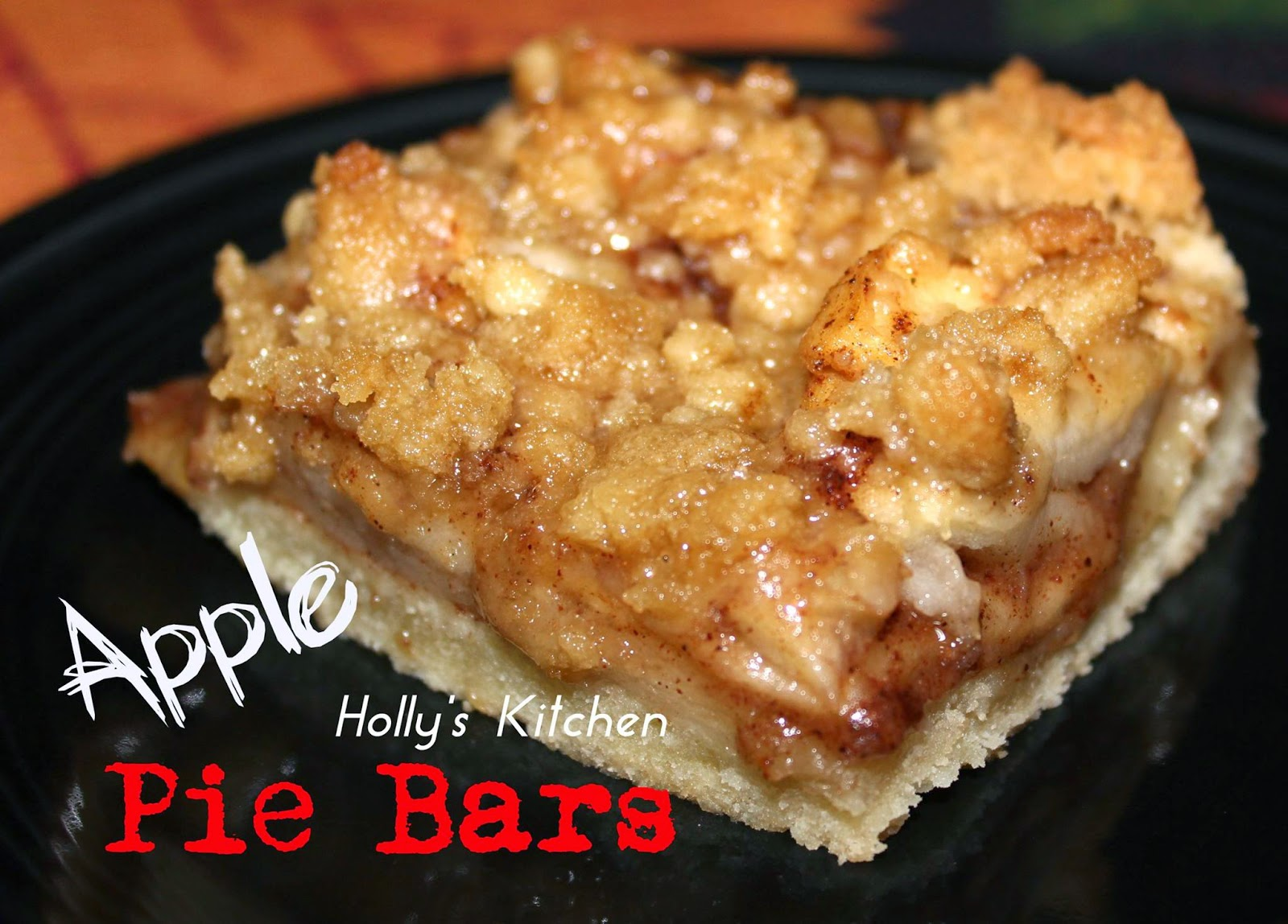 Weightloss, Recipes and DIY with Kari: Apple Pie Bars