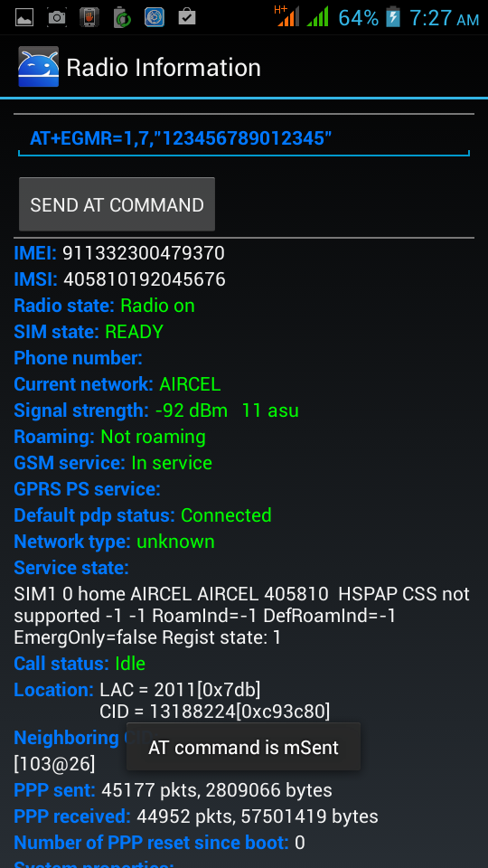 how to change imei no of mobile