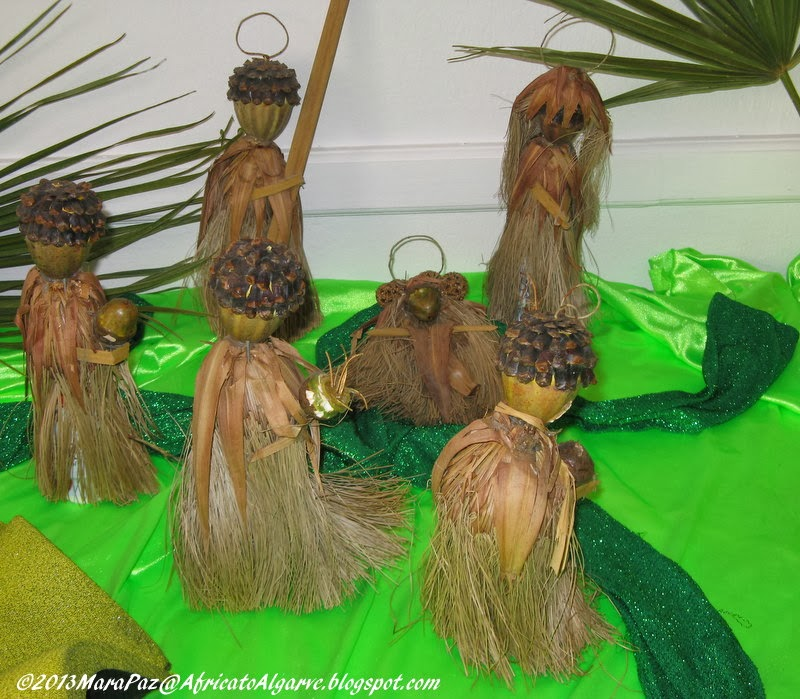 """African"" Nativity scene"