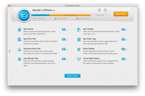 Bersih hapus memori iPhone 2