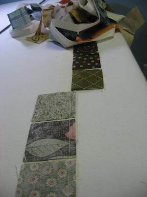 Tranquility Mini Quilt ~ Almost Finished!