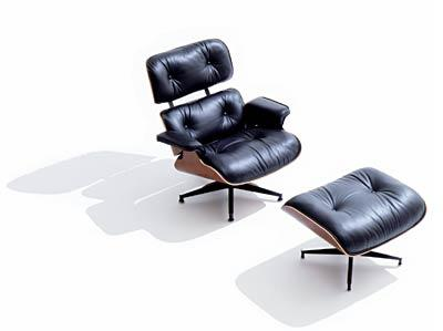 Ottoman and eames lounge chair types of furniture for Charles eames fake