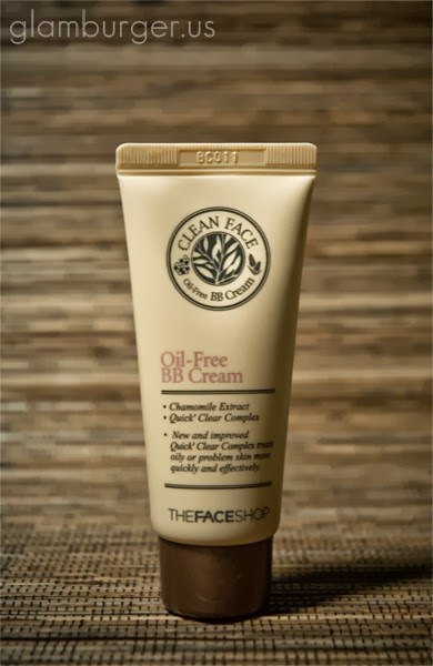 The Face Shop Clean Face Oil-Free BB Cream Review, The face shop bb cream review
