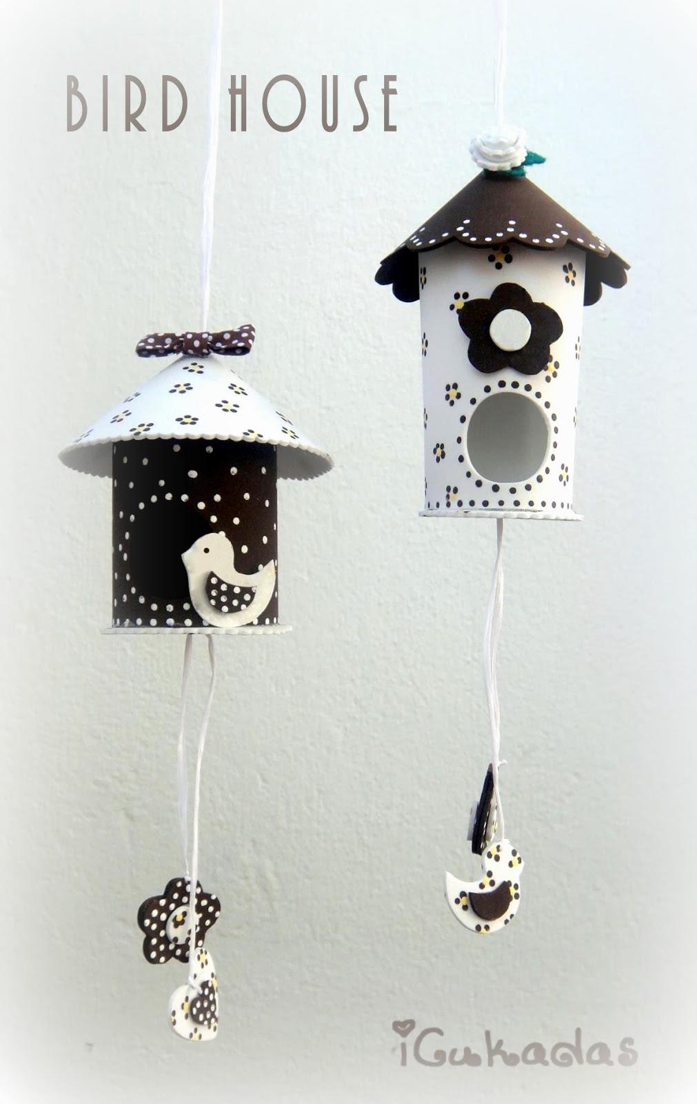 Icukadas casitas para p jaros decorativas - Casita para pajaros ...