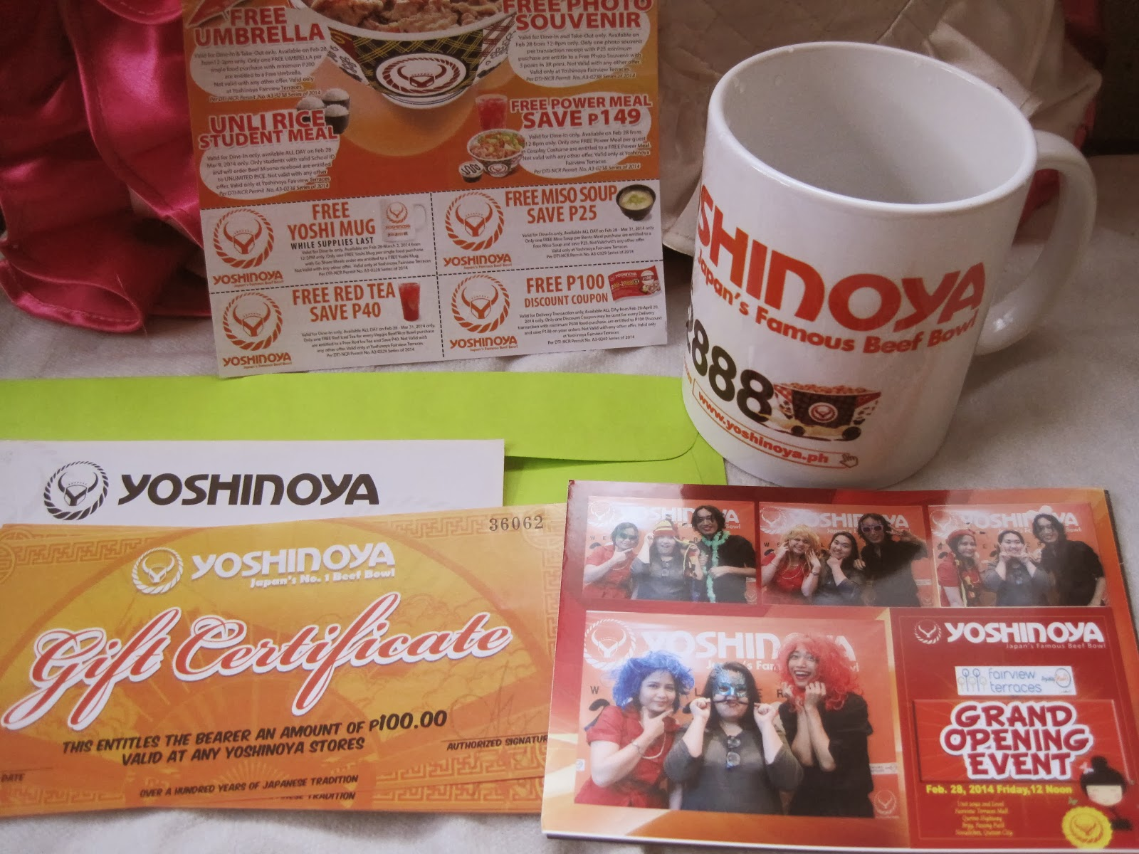 yoshinoya goodies