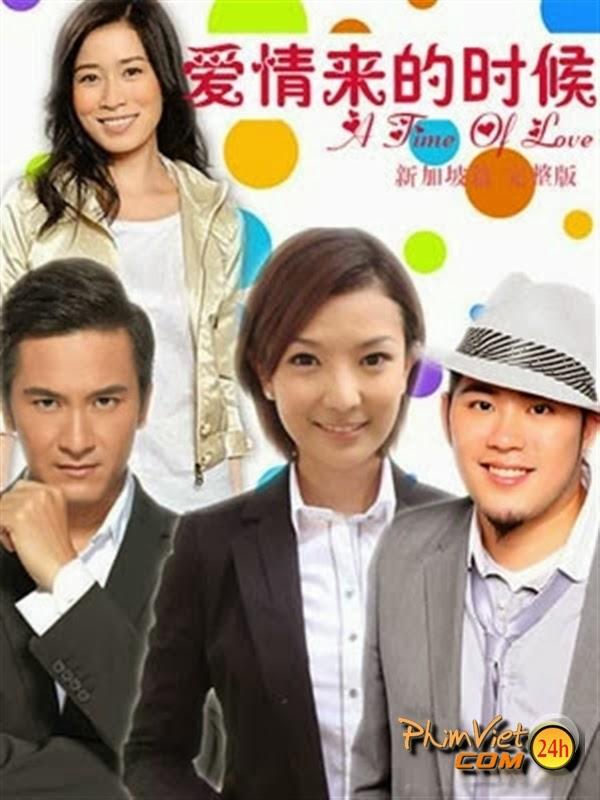 xem phim Khoảnh Khắc Tình Yêu - A Time Of Love TVB full hd vietsub online poster