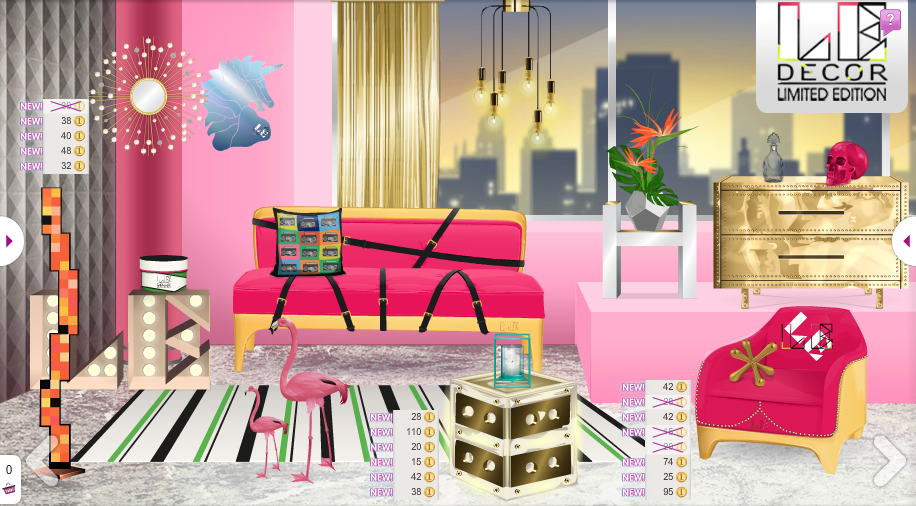 The stardoll lookbook le decor for Les decorations