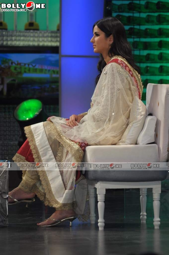 Katrina Kaif in Salwar Kameez at NDTV Greenathon Show
