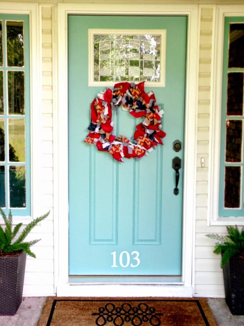 Cultivate Create: DIY Patriotic Rag Wreath