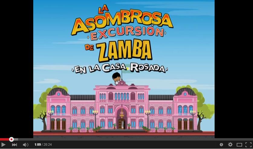 zamba en la casa rosada