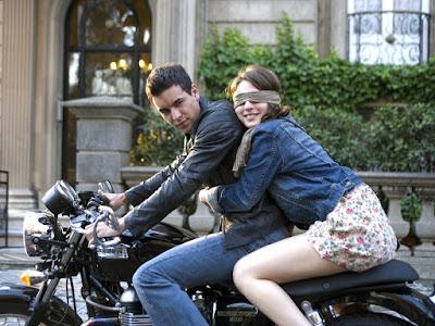 imagenes de enamorados en moto