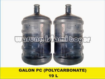 Jual Galon PC 19 Liter