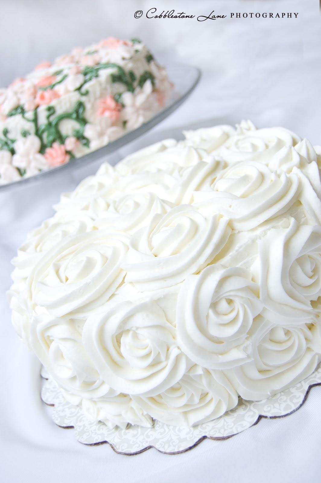 The Nature of Grace Wedding Shower Cakes