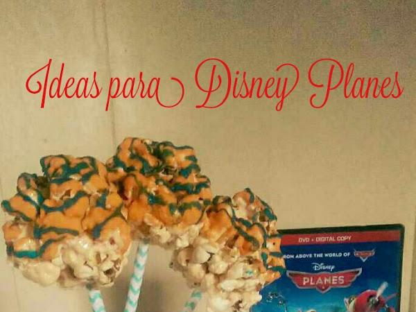Popcorn Balls { Ideas para Disney Planes }