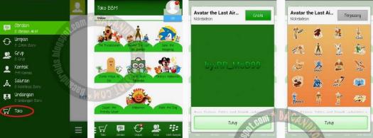 Sticker BBM Gratis Asus Zenfone Tanpa Root