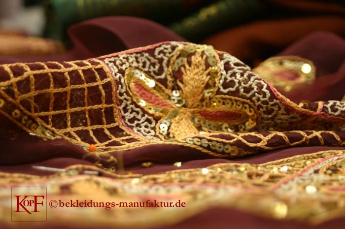 Sickerei-Detail  © Bekleidungs-Manufaktur.de