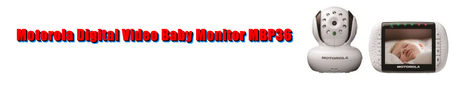 Motorola Digital Video Baby Monitor MBP36