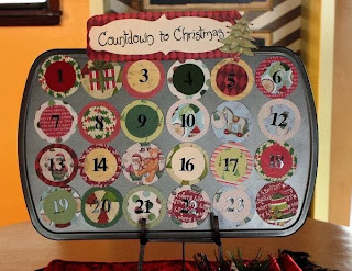 Christmas 2015 Countdown HD Calendar for Kids Printable