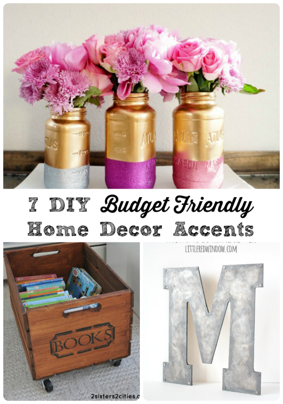 7 diy budget friendly home decor accents via thefrugalfoodiemamacom havertysrefresh - Home Decor Accents