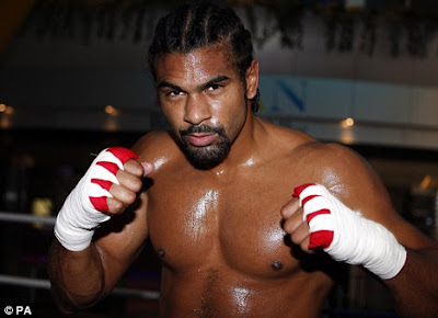 david haye boxing record