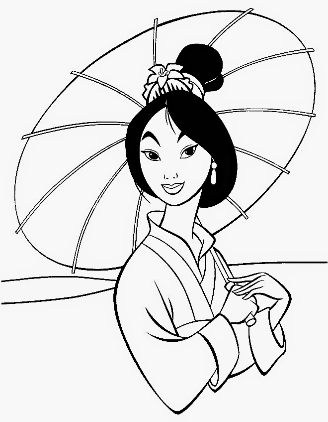 Disney coloring pages coloring.filminspector.com Mulan