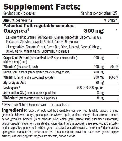 Резултат с изображение за AMIX Oxxy-DETOX