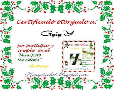 1er Certificado  (4 de enero 2011)