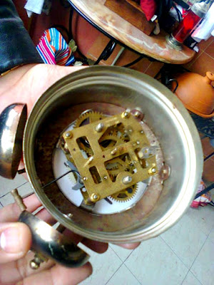ساعة الديك القديمة