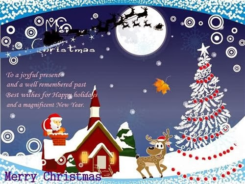 Beautiful Christmas Greetings Cards With Quotes In 2013