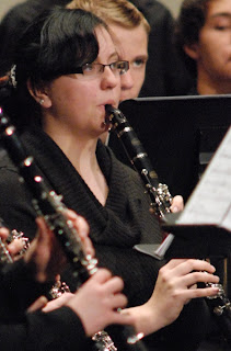 Concert - Playing Clarinet