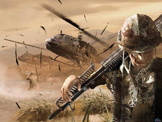 soldier with snipper 3d wallpaper for desktop