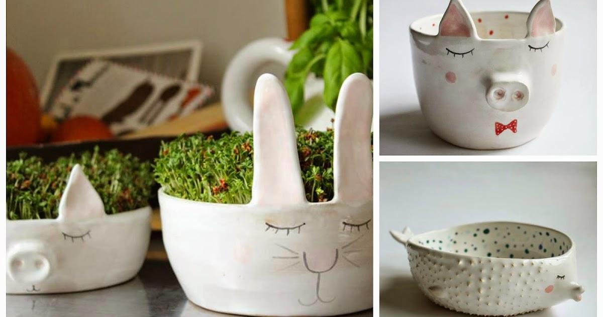 Bellezas hechas con ceramica, por Marta Turowska